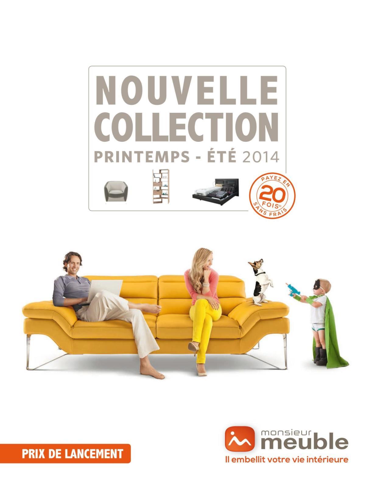 Catalogue Monsieur Meuble Nouvelle Collection Ete 2014