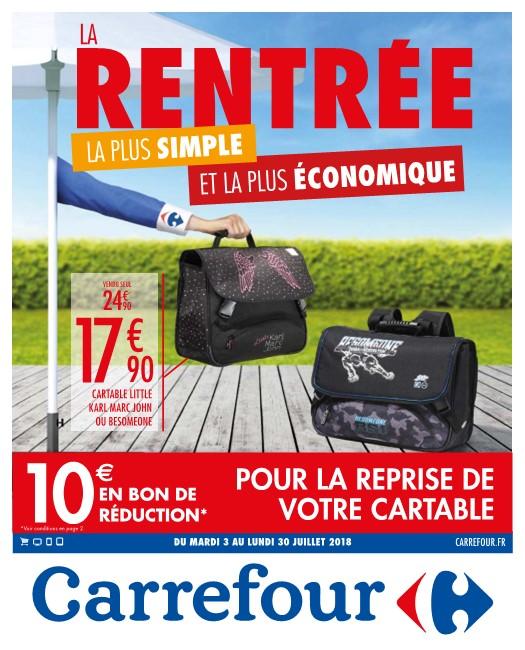 Catalogue Carrefour La rentrée 3-30 Juillet 2018 - Catalogue AZ