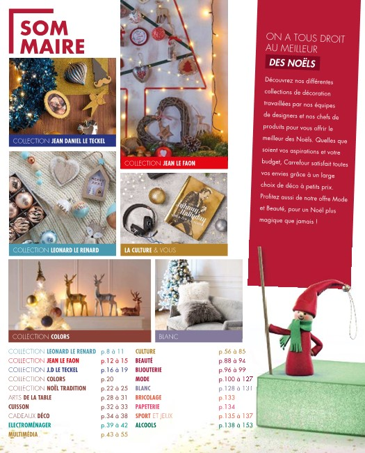 Catalogue Carrefour Noel 13 Novembre 10 Décembre 2018