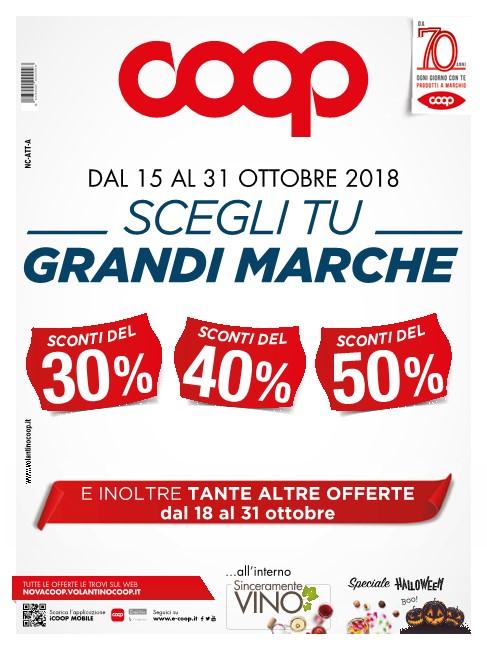size 40 b2f27 0037d Volantino Coop Scegli Tu Grandi Marche 15-31 Ottobre 2018 ...