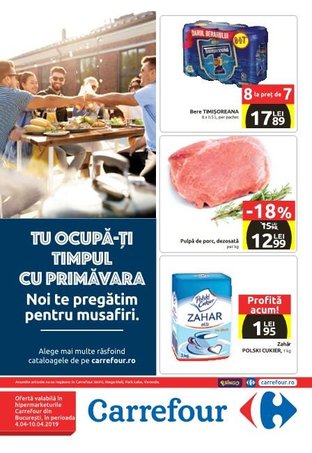 Catalog Carrefour Te pregatim pentru musafiri 04-10 Aprilie 2019