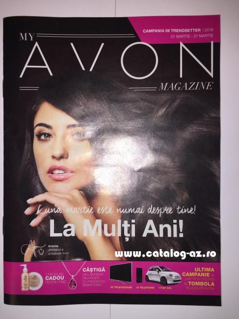 Catalog My Avon Magazine Campania 6 2018 Catalog Az