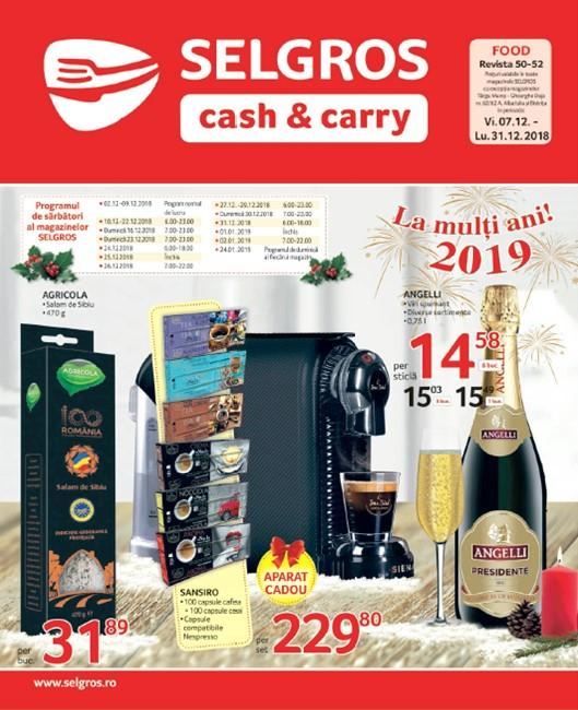 Catalog Selgros Alimentare   Program Sarbatori 07-31 Decembrie 2018 979dab5ffc